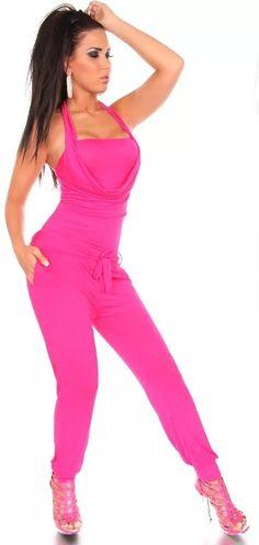 Moderní dámský jednobarevný letní overal Jumpsuit, Pants, Dresses, Fashion, Overalls, Trouser Pants, Vestidos, Moda, Monkeys