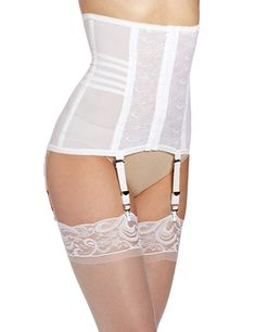 Shop a great selection of Rago Shapewear Waist Cincher Girdle removable suspenders Style 21 (XXL, White)'. Find new offer and Similar products for Rago Shapewear Waist Cincher Girdle removable suspenders Style 21 (XXL, White)'. Women's Shapewear, Bra Lingerie, Fashion Lingerie, White Lingerie, Vintage Lingerie, Waist Cincher, Women Wear, Slip On, Plus Size