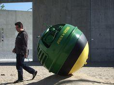 John Deere tractor ball