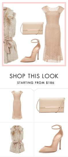"""""""Untitled #408"""" by dvurechenskay ❤ liked on Polyvore featuring LUISA BECCARIA, Ted Baker and Gianvito Rossi"""