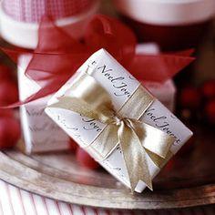 <3  Martha Stewart - beautiful small gift