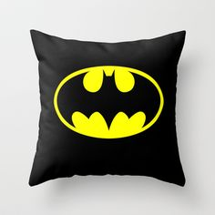 BATMAN Throw Pillow | Gift Ideas for Boyfriend