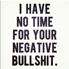 No time.