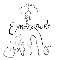 Downloadable Prints  O Come O Come Emmanuel  Christian