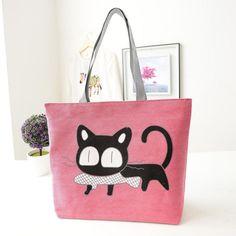 Canvas Cat Bag