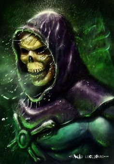 Skeletor, From He-man and the masters of the universe.