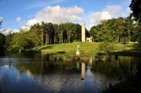 Hardwick Park Gothic Tower and Neptune