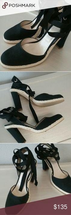 Marc  Jacobs ankle tie  shoes / espadrilles Marc Jacobs ankle tie shoes/ espradrilles Marc Jacobs Shoes Espadrilles