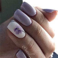 83 stunning nail art ideas~ Page 6 of 83 Inspiration Diary Famous Last Wor. Classy Nails, Stylish Nails, Cute Nails, Pretty Nails, My Nails, Jamberry Nails, Square Nail Designs, Nail Art Designs, Flower Nail Designs
