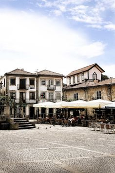 Caminha, old architecture district #Portugal