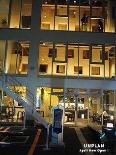 神楽坂にできたホステル  UNPLAN   その1階にカフェができました〜  外人さんだらけで入りずらいかと思いきや。。 お客さんは...