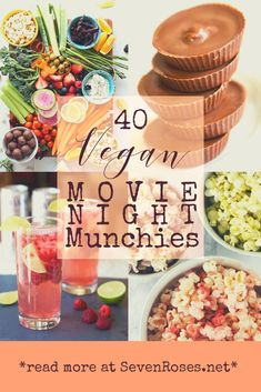 40 best Vegan movie night munchies