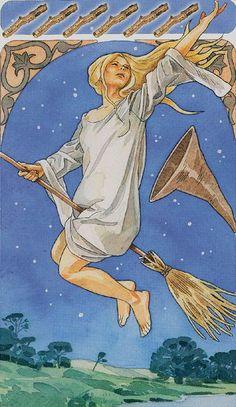 Six of Wands - Sorcerers Tarot