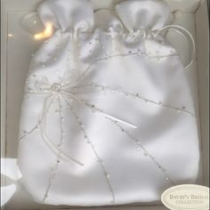 Wedding Money Bag New Bought It For My But Never Use Beige Color David S Bridal Bags Mini