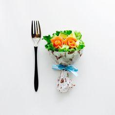 誕生日やホームパーティーで喜ばれるブーケサラダの作り方ラッピングアイデア集