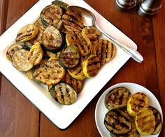 Grilled Zucchini and Summer Squash from Southern Lady Magazine via Taking On Magazines