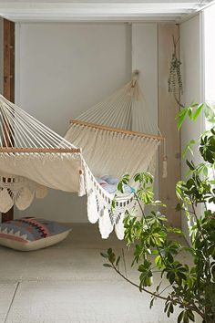 Macrame Hammock-- this is just needed at the lake in general.
