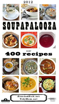 400 Soup Recipes at