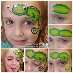 Prentresultaat vir kids face painting designs animals