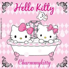Did you know that Hello Kitty has a pet named Charmmy Kitty but also a hamster called Sugar? :p Hello Kitty, July 2016