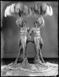 The Dodge Sisters, Betty and Beth c.1925. @Deidra Brocké Wallace