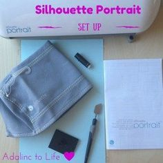 Easy Silhouette Portrait Set Up and get started creating your own stickers right away.