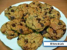 Mi horno de leña: Cookies de Chocolate