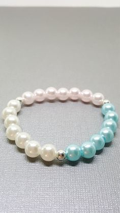 Check out this item in my Etsy shop https://www.etsy.com/ca/listing/504150640/prom-bracelet-pearl-bracelet-baby-blue
