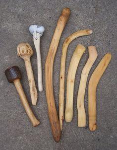 Throwing sticks