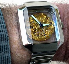 Mystique Skeleton Automatic Watch by Android