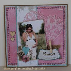 Love & Home zwangerschapskaart