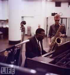 Thelonious Monk and Gerry Mulligan