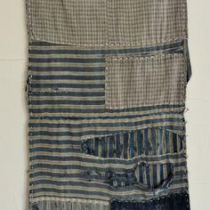 Antique Japanese Boro Indigo-Dyed Textiles