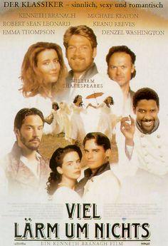 Poster zum Film: Viel Lärm um nichts Shakespeare ein Film, der sprachlich nichts wünschen übrig lässt.  Den Schauspielern sieht man den Spaß am Drehen an!