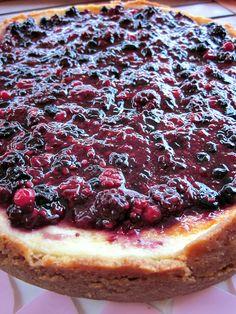 Cheesecake ai frutti di bosco con cottura mascarpone e ricotta| Chiarapassion