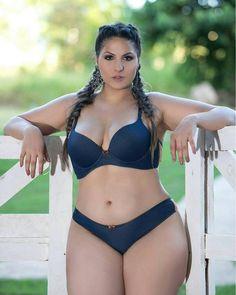 "Karol Ribeiro - The definitive ""Big Beautiful Woman"" Curvy Plus Size, Plus Size Girls, Modelos Plus Size, Plus Size Beauty, Voluptuous Women, Lingerie, Beautiful Curves, Curvy Fashion, Curvy Women"