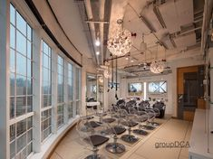 """New-Delhi based Group DCA has helmed a """"minimalist chic"""" design for L'Oreal Training Academy — the brand's first training center that's transformational Training Academy, Minimalist Chic, New Delhi, Loreal, Interior Design, Online Publications, Industrial, Home Decor, Nest Design"""