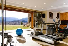 """Again not the workout room, but a view from """"Bonus"""" room"""