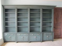 Bookcase Units by John's Custom Woodworks Feature Osborne Components - Osborne Wood Videos