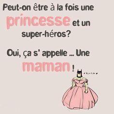 Peut-on être une princesse et un super-héros ?
