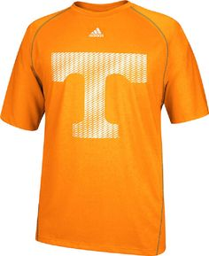 Tennessee Volunteers Orange Razor Logo Performance T Shirt by Adidas $31.95