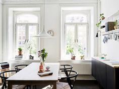 Kitchen table via Homesick