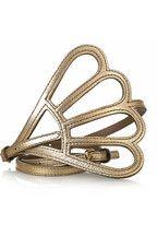Gold Skinny belt