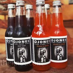 personalized soda bottles as favors. Since I love Jones Soda so much this would be awesome!