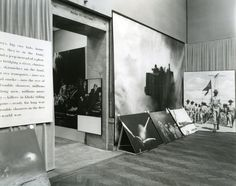 Road to Victory, curated by Bauhaus designer Herbert Bayer at the Art Institute of Chicago in 1943