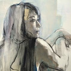 Watercolor Portraits, Watercolor Art, Figure Painting, Painting & Drawing, Art Visage, Abstract Painters, Aesthetic Drawing, Art For Art Sake, Life Drawing
