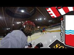 Saints stars try ice hockey during Switzerland trip - HockeyVideoCenter Switzerland Trip, Southampton, Ice Hockey, Saints, Led, Sport, Santos, Sports, Hockey Puck