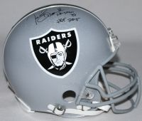 """TIM BROWN Signed Raiders Full-Size Authentic Pro-Line Helmet Inscribed """"Heisman '87"""" & """"HOF 2015"""" Limited Edition #1/81 STEINER COA LE 81 - Game Day Legends"""