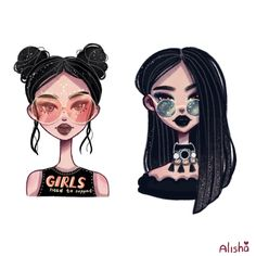 Ознакомьтесь с моим проектом @Behance: «badass girls» https://www.behance.net/gallery/51833443/badass-girls