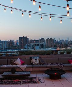 Is This The Dreamiest NYC Rooftop? #refinery29 http://www.refinery29.com/eye-swoon/40